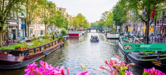 4* Luxury Central Amsterdam Escape  - Award-Winning Hotel!