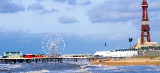 2-5nt Blackpool Break, Breakfast & Merlin Pass Discount for 2 or 4