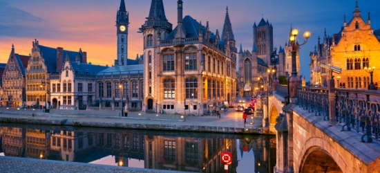 Historic Ghent, Belgium City Escape & Return Eurostar