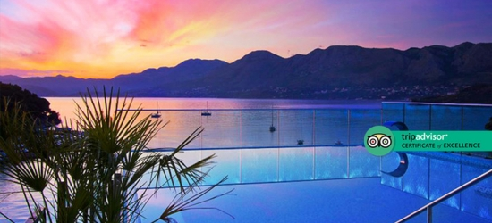 Half-Board Dubrovnik Getaway with Infinity Rooftop Pool!