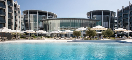 5* Abu Dhabi escape w/board upgrade