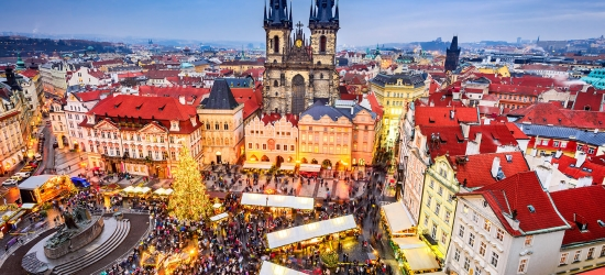Prague Christmas market break w/flights