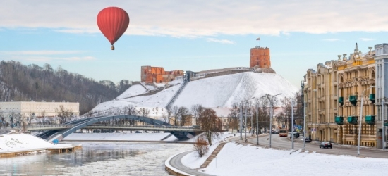 Win a Christmas break for two to Vilnius, Lithuania