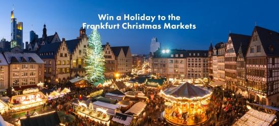 Win a Christmas Market trip to Frankfurt