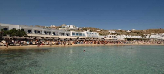 7 nights in Apr at the 4* Acrogiali Hotel, Mykonos, Greece