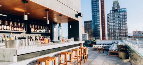 $ Based on 2 people per night | Stylish Midtown hotel with a hip rooftop bar, Arlo Nomad, New York
