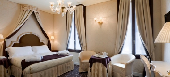 $ Based on 2 people per night | Decadent Venice stay on the waterfront, Maison Venezia UNA Esperienze, Italy