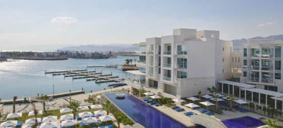 $ Based on 2 people per night | 5* Aqaba seafront resort with an infinity pool, Hyatt Regency Aqaba Ayla Resort, Jordan