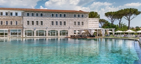 $ Based on 2 people per night | 5* Tuscan thermal spa resort with incredible dining, Terme di Saturnia Spa & Golf Resort, Italy