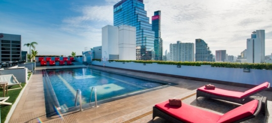 Based on 2 people per night | Sleek hotel in the buzzing Thai capital, Furama Silom Bangkok, Thailand