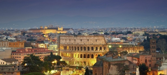 $ Based on 2 people per night | Modern Rome hotel in a central location, Rome Life Hotel, Italy