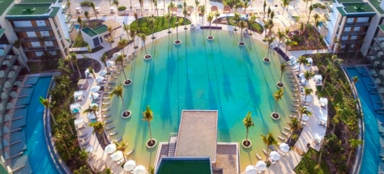 $ Based on 2 people per night | All-inclusive Cancún stay at a luxury adults-only resort, Haven Riviera Cancún, Mexico