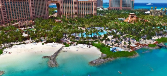 $ Based on 2 people per night | Stunning Bahamas stay at a luxurious beach resort, The Royal at Atlantis, Paradise Island