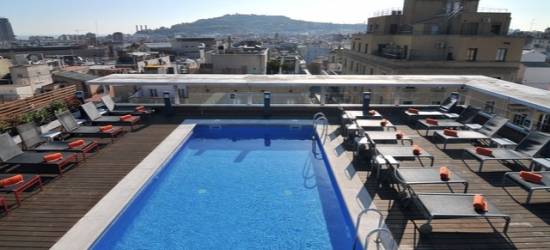 Based on 2 people per night | Sleek hotel in a perfect Barcelona location, Hotel Jazz, Barcelona, Spain