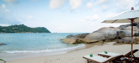 $ Based on 2 people per night | Thai-island resort on a private beach in Koh Phangan, Panviman Resort Koh Phangan, Thailand