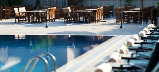 Based on 2 people per night | 5* Dubai hotel with a rooftop pool, Mövenpick Hotel & Apartments Bur Dubai, UAE