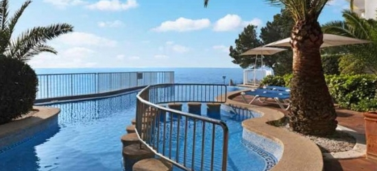 $ Based on 2 people per night | Mesmerising Mallorca escape with sea views, Hotel Roc Illetas, Spain