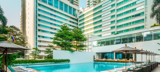 $ Based on 2 people per night | Sleek luxury hotel in the vibrant Thai capital, COMO Metropolitan Bangkok, Thailand