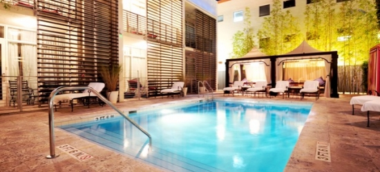 $ Based on 2 people per suite per night   Luxury SoBe sanctuary with a rooftop pool, The Angler's Hotel Miami South Beach, a Kimpton Hotel, Florida
