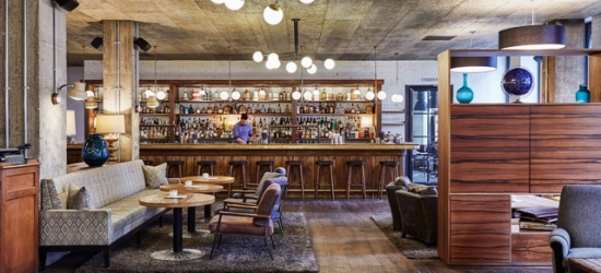 $ Based on 2 people per night | Chic industrial-style hotel in London's Holborn, The Hoxton, Holborn, London