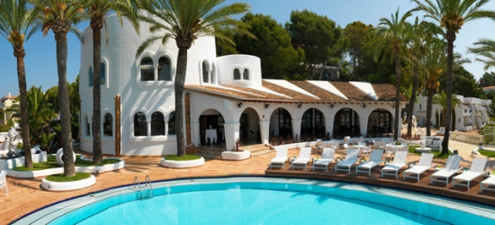 $ Based on 2 people per night | Sparkling Mallorca stay at a chic cliffside hotel, Maritim Hotel Galatzó, Mallorca, Spain