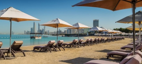 $ Based on 2 people per night | Glitzy Abu Dhabi stay on the luxe Corniche, Radisson Blu Abu Dhabi Hotel & Resort Corniche, United Arab Emirates