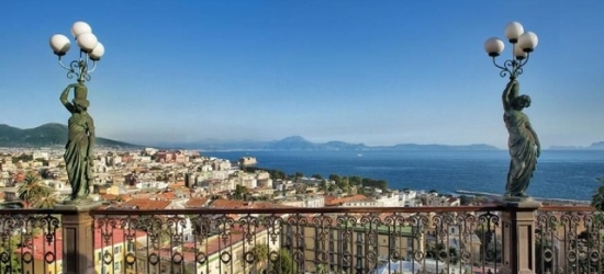 $ Based on 2 people per night | 5* Naples hotel with panoramic views, Grand Hotel Parker's, Italy
