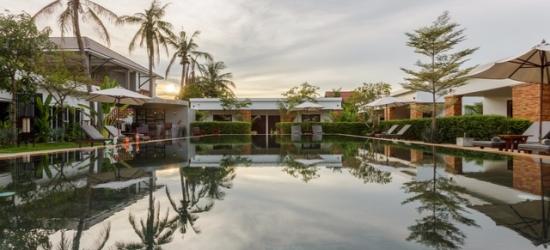 Based on 2 people per villa per night | Slick Sieam Reap oasis with optional pool villa, Nita by Vo Angkor Resort, Cambodia