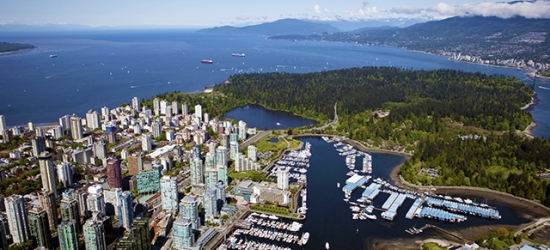 $ Based on 2 people per night | Slick Vancouver stay at a modern downtown base, British Columbia, Canada