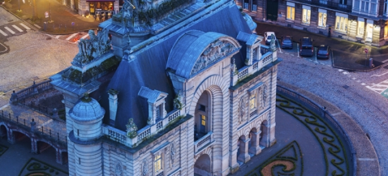 $ Based on 2 people per night | 5* spa hotel in Lille's historic center, L'Hermitage Gantois, France