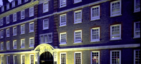 $ Based on 2 people per night | Traditional London hotel in the upscale West End, Grange Fitzrovia Hotel, Fitztrovia