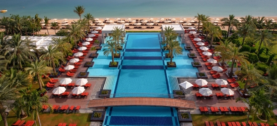 Dubai: 5-star beach break w/ water park tickets; save 25%