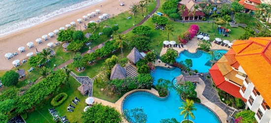 Bali: 5-star all-inc beach holiday & sea view room
