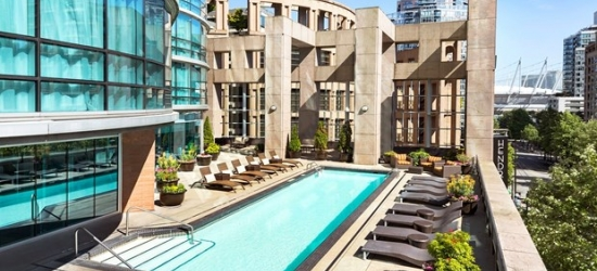 Up to 40% Off -- Dine Out Vancouver Stays at 4-Star Hotel