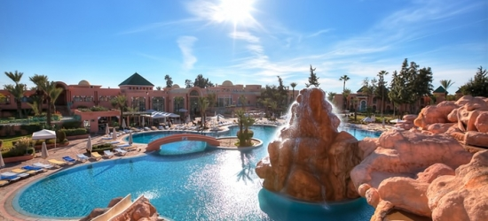 Marrakech: camera doppia o familiare con colazione, mezza pensione o soft all inclusive al Club Sangho da 2 a 4 persone