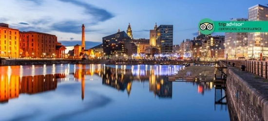 Liverpool Stay, Late Checkout & Wine for 2 @ 4* Heywood House Hotel