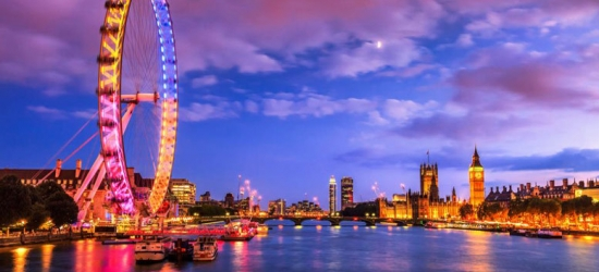 1nt Central London Stay, London Eye & Train Travel from 40+ Stations