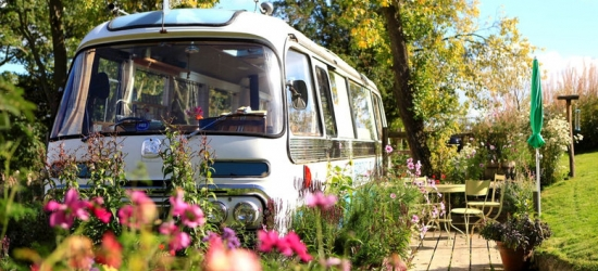 2nt Herefordshire Panoramic '60s Converted Bus Break for 4