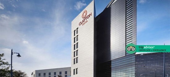 4* Birmingham Break, 3-Course Dinner, Prosecco & Late Check Out for 2