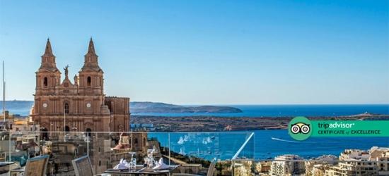 4* Luxury Malta Mellieha Bay Break, Airport Transfers