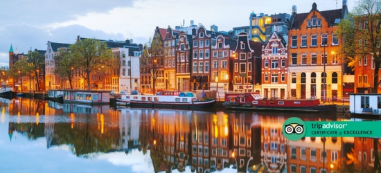 Central Amsterdam Stay - Hotel By City Centre & Nightlife Ticket Included!