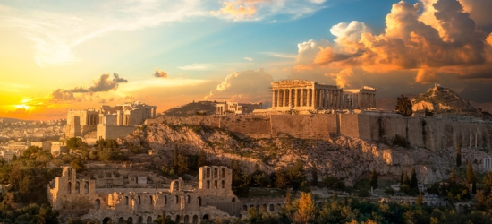 Rome & Athens Multi-City Escape  - Explore Ancient Cities!