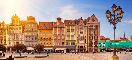 4* Mini-Break in Central Krakow with Flights