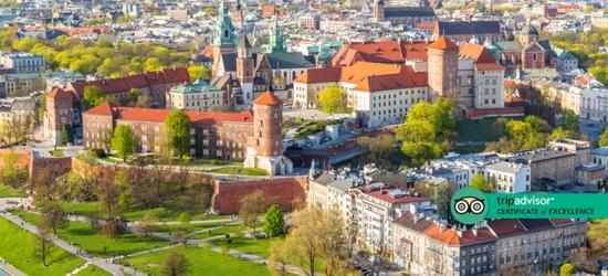 Central Krakow Getaway, Transfers  - Award-Winning Hotel!