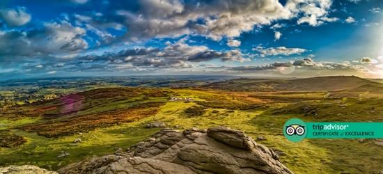 Luxury 4* Dartmoor Break for 2 - Cream Tea Included!