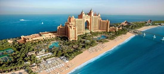 5* Atlantis The Palm, Dubai break w/board upgrade