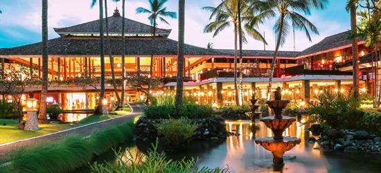5* Bali escape w/breakfast & flights