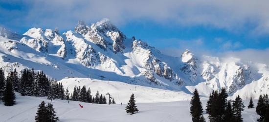 Win a snowy ski holiday to Courchevel in the French Alps