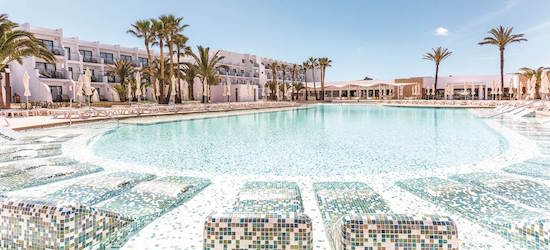 5* luxe all-inc PLUS Ibiza getaway w/flights