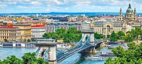 4* Budapest: 3 nights + breakfast & flights